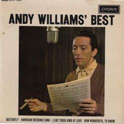 Andy Williams' Best
