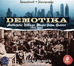 Demotika: Authentic Village Music From Greece 1917-1955 CD3