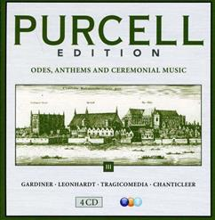 PURCELL EDITION - Vol.III: Hail, Bright Cecilia / Come Ye Sons Of Art, Away (CD1)