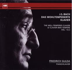 J.S. Bach - The Well - Tempered Clavier (CD1)